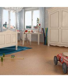 Tolles Raumklima mit #Kork - #Korkboden für nur 40,90€/m² → Haro Corkett Korkboden | Cora - natur - Kork