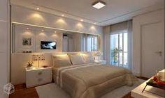 Resultado de imagen para como decorar a cabeceira da cama com espelhos