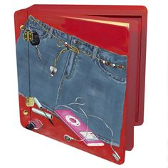 Children and Teen's Denim Blues Memory Box
