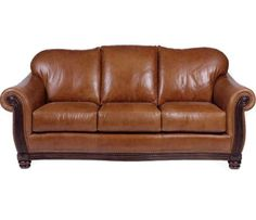 The Vail Leather Sofa Set