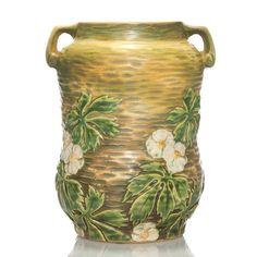 """Roseville Experimental floral vase, 8 1/8"""""""