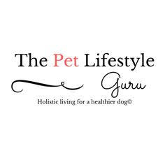 Check out The Pet Lifestyle Guru, holistic living for a healthier dog!