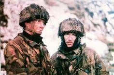 British paratroopers, Mount Longdon, Falklands war, pin by Paolo Marzioli