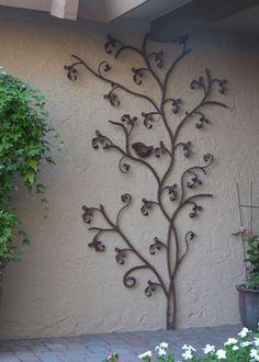 CrissCross, A Sculptural Vine - Kevin Caron