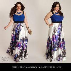 Dobbelt sjovt! Ariadna Maxi kjole fra Igigi.