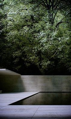 "scandinaviancollectors: ""Ludwig Mies van der Rohe, the Barcelona Pavilion, was the German Pavilion for the 1929 International Exposition in Barcelona, Spain. Demolished 1930 and rebuilt in 1986. / Wabisabi-Style """