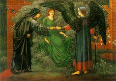 Heart Of The Rose: Sir Edward Burne-Jones (1833-1898). Oil on canvas, 1874