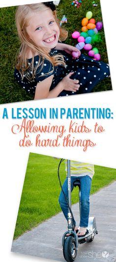 Teaching kids to do hard things