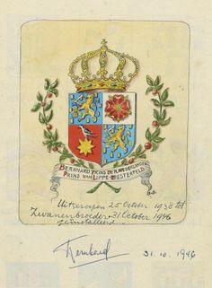 Uit het wapenboek: Bernhard