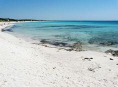 Punta Prosciutto Salento Puglia Italy