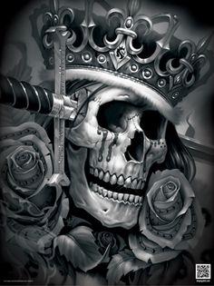 """OG Abel """"Suicide King"""" Poster"""