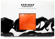 This British Smoked Salmon Brand Boasts Artistic Packaging #branding trendhunter.com