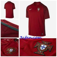 boutique maillot de sport Portugal euro 2016 domicile rouge prix discount 49745a3b2a7b9