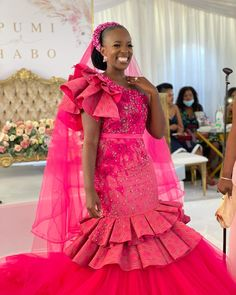 African Bridesmaid Dresses, African Party Dresses, African Wedding Dress, African Fashion Dresses, African Dress, African Weddings, Sepedi Traditional Dresses, African Traditional Wear, African Traditional Wedding Dress