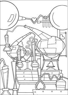Igor Målarbilder för barn. Teckningar online till skriv ut. Nº 11