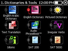 English-arabic  dictionary Partner P900. www.luxectaco.com