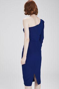 Tek Omuz Elbise - Mert Aslan Koleksiyonu - adL ba43dd0e1b45a