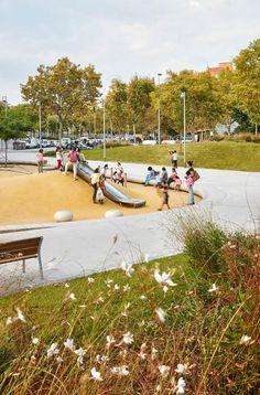 Park in Badalona, Spain by peris+toral.arquitectes « Landscape Architecture Works   Landezine