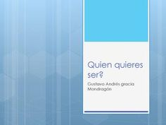 "Cover of ""Quien quieres ser"""