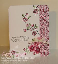 Stampin' Up! SU by Kelly Rose, roseyscrapper