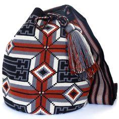 Hermosa Wayuu Mochila Bag | WAYUU TRIBE – WAYUU TRIBE | Handmade Wayuu Mochilas Boho Bags