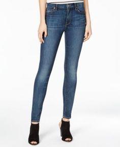 Lucky Brand Bridgette Barrier Wash Skinny Jeans - Blue 28