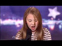 Anna Graceman americas got talent. ABSOLUTELY AMAZING The audition process continues as a colorful array of hopeful future stars get their chance to audition on stage, and they hope that they have the outlandish talent needed to impress ju. America's Got Talent, Talent Show, Music Love, Rock Music, My Music, Victor Wooten, Atlanta, Kids Singing, Entertainment Video