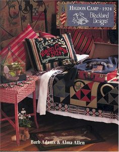 I love this picture and the quilt with the baskets!