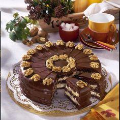 Schoko-Walnuss-Torte Rezept | LECKER