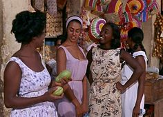 My dream world, beautiful black girls wearing Easter Sunday colors everyday. Beautiful Black Girl, Pretty Black, Black Girl Magic, Black Girls, Black Orpheus, Vintage Black Glamour, Dark Skin Girls, Black Queen, Film Stills