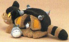 Of the totoro cat bus including the sewing beat; small size 26cm