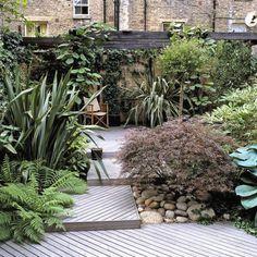 Urban Garden Design Ideas > www. Urban Garden Design, Landscape Plans, Urban Landscape, Landscape Designs, Creative Landscape, Low Maintenance Garden Design, Small City Garden, Small Gardens, Backyard Ideas For Small Yards