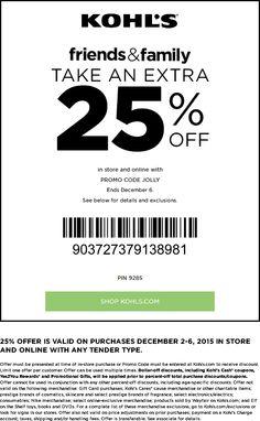 bed275e39cd4 Pinned December 3rd  25% off at Kohls or online via promo code  JOLLY