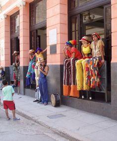 Cómicos en La Habana