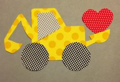 DIY Iron Or Sew On Fabric Applique Boys by MainStreetStitches, $4.00