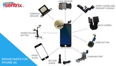 Mobilesentrix offer iPhone 6S Repair/Replacements Parts.Also buy Cell Phone Replacement Parts and Mobile Phone Repair parts.Our all LCD Comes with lifetime warranty. #iphonerepairparts #iphonereplacementsparts