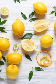 Lemons are a great source of vitamin C! One fresh lemon provides of your daily recommended serving of vitamin C. Fruit And Veg, Fruits And Vegetables, Lemon Art, Fruit Photography, Dog Treat Recipes, Lemon Water, Food Art, Still Life, Sunlight
