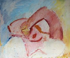 Dennis Creffield, Good Morning, Oil on canvas