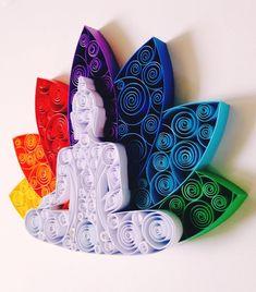 Neli Quilling, Quilling Work, Paper Quilling Jewelry, Paper Quilling Patterns, Quilled Paper Art, Quilling Paper Craft, Paper Crafts Origami, Lotus Kunst, Art Lotus