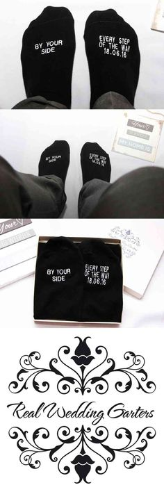 / These are great products.The perfect gift for the Father of the Bride, Groom, Brother in law, for a walk that he'll never forget. This wedding saying is embroidered on our men's black dress socks and makes a great wedding attire accessory and thoughtful gift.  These are a MUST for your Father, Groom, Brother in law, of the Bride on the big day! A wonderful and unique gift for Your Special (...) (via pushapin.com)