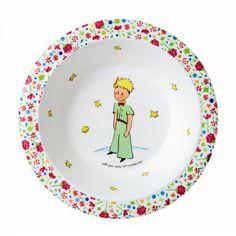 Der kleine Prinz Schale rosa Melamin von Petit Jour Paris - Bonuspunkte sammeln, Kauf auf Rechnung, DHL Blitzlieferung!