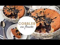 COBBLER CU FRUCTE | RETETA RAPIDA | TEOSKITCHEN | GOSPODIVA - YouTube Muffin, Pizza, Cooking, Breakfast, Youtube, Food, Pie, Kitchen, Morning Coffee