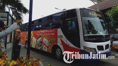 Dampak Virus Corona, Penumpang di Terminal Bratang Surabaya Turun 50 Persen, Sopir Bus Pasrah Surabaya