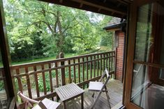 This cottage sleeps and is great for family groups. With balconies front and back enjoying stunning views over the lake and canal Walking Holiday, Short Break, New Forest, Balconies, Staycation, Cottage, Water, Outdoor Decor, Home Decor