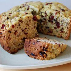 Dessert Recipe: Orange Cranberry-nut Bread