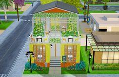 "lesyasun: A new building in Mellow Bay. Restaurant ""Lemon Slice""."