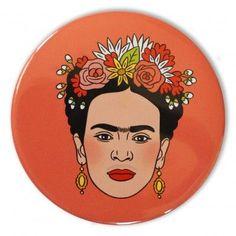 'Frida Kahlo' Pocket Mirror