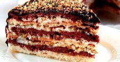 Торт «Мишка» не займет у вас много времени: он простой в приготовлении. Торт получается в меру сладкий, нежный, а орешки придают лакомству оригинальности