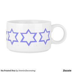 Six Pointed Star Chili Bowl