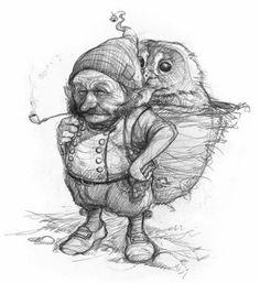 Jean-Baptiste Monge Official Website Professional Illustrator, Painter, Character Designer Publishing and Entertainment JBMonge (c) Copyright Fantasy Wesen, Fantasy Art, Magical Creatures, Fantasy Creatures, Pencil Drawings, Art Drawings, Elves And Fairies, Fairy Art, Art Reference